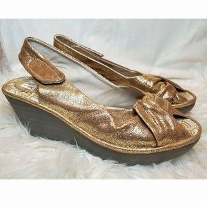 Fly London Yakin Wedge Slingback Sandle Shoe
